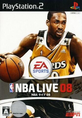 【中古】NBAライブ08ソフト:プレイステーション2ソフト/スポーツ・ゲーム