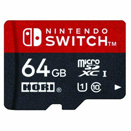 新品 マイクロSDカード64GBforNintendoSwitch周辺機器(ソノ他メーカー)ソフト/その他・ゲーム