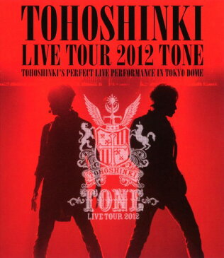 【中古】東方神起/LIVE TOUR 2012 〜TONE〜 【ブルーレイ】/東方神起
