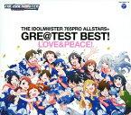 【中古】THE IDOLM@STER 765PRO ALLSTARS+GRE@TEST BEST!−LOVE&PEACE!−/765PRO ALLSTARS+CDアルバム/アニメ