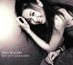 【中古】Mai Kuraki BEST 151A−LOVE&HOPE−(初回限定盤B)(2CD+DVD)/倉木麻衣CDアルバム/邦楽