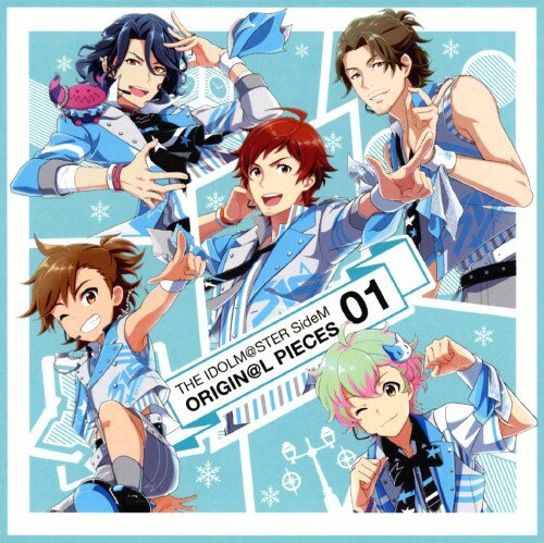 サウンドトラック, TVアニメ  SideM THE IDOLMSTER SideM ORIGINL PIECES 01()()()(II)()CD
