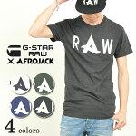 【送料無料(ゆうパケット)】G-STARRAWジースターロウAfrojackCapアフロジャックプリントTシャツメンズD01769.48342016新作AfrojackSolidLongT-shirt
