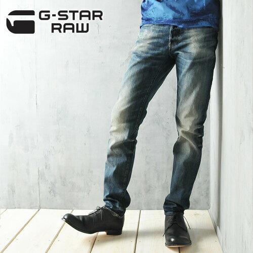 G-STAR RAW ジースターロウ スリムストレート デニムパンツ/ジーンズ 3301 SLIM GSTAR...