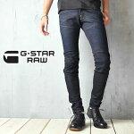 """G-STARRAW(ジースターロウ)5620立体裁断(3D)スーパースリムジーンズ""""56203DSuperSlimJeans""""51026.7209"""
