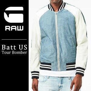 SALEセール 30%OFF 送料無料 G-STAR RAW ジースターロウ メンズ メンズ スカジャン Batt US Tour Bomber D05172-6765