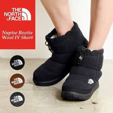 ノースフェイス THE NORTH FACE ヌプシブーティー ウール Nuptse W Nuptse Bootie Wool IV Short レディース スノーブーツ スノーシューズ NFW51879