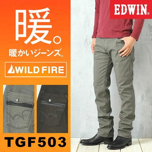 EDWIN エドウィン WILD FIRE ワイルドファイア(チェック/千鳥柄)TGF503-768/776【コ...