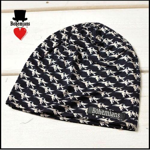 ボヘミアンズ Bohemians ワッチキャップ ピジョン LOVE PIGEON ニットキャップ/ニット帽 BH-09 LV ...