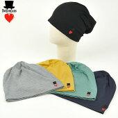 【送料無料(メール便)】Bohemiansボヘミアンズソリッドラブハットワッチキャップ/帽子BH-09SOLIDLOVEHATEMB