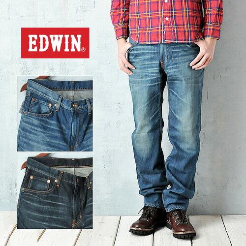 EDWIN エドウィン 503ストレートデニムパンツ EDWIN 50313-126/146【コンビニ受取対応...