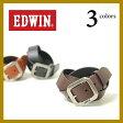 【送料無料(ゆうパケット)】EDWIN エドウィン レザーベルト 110746 メンズ【コンビニ受取対応商品】