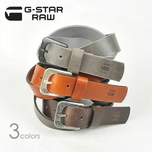 """G-STAR RAW ジースター ロウ レザーベルト""""ZED BELT"""" 89001C.3127(89001D.3127)【コンビニ受取..."""