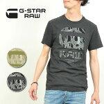 2016新作【10%OFF/送料無料】G-STARRAWジースターロウプリントTシャツメンズD01348.4834FrikranShortSleeveT-shirtGSTAR