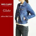楽天【ポイント10倍/送料無料】RED CARD レッドカード Globe グローブ デニムジャケット/Gジャン REDCARD RCG001(G001)【コンビニ受取対応商品】
