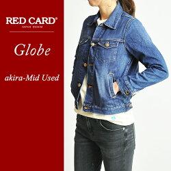 "REDCARDレッドカードデニムジャケット/Gジャン""Globe""G001REDCARD"