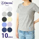 【ORCIVAL】クルーネック半袖Tシャツ