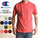 SALEセール10%OFF 2019春夏新作 Champion チャンピオン Tシャツ ベーシックライン クルーネックTシャツ ピンク メンズ BASIC LINE CREW NECK T-SHIRTS C3-P300 920