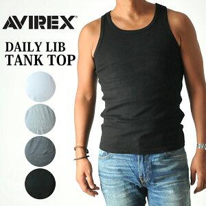 AVIREX アビレックス 無地タンクトップ 6143507(6183140)avirex アヴィレックス タンクトップ タンク デイリー メンズ カットソー