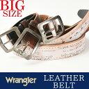 Wrangler/ラングラー アンティークバックル レーザー彫サイド金...