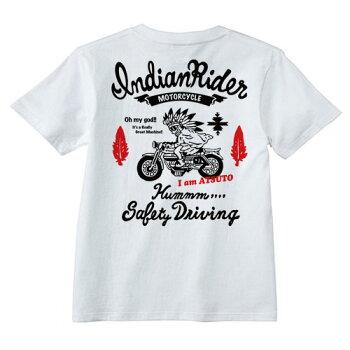 名入れTシャツ(アメカジスタイル)【IndianRider】