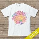 【flower】名入れTシャツ