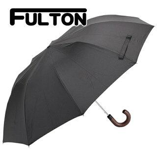 フルトンFULTON傘メンズ雨傘折り畳み傘MAGNUM-1AUTOブラックG5125F001BLACK