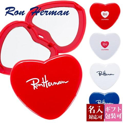 後払いOK ロンハーマン ミラー コンパクトミラー ハート型 【Ron Herman RHC FREE CITY フリーシティー 手鏡 ハンドミラー 折りたたみ 名入れ ギフト プレゼント かわいい おしゃれ 新品 正規品 ブランド セール レディース RH 】 バレンタイン プレゼント
