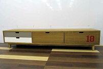 アウトレット家具BaquedeLoopテレビボードテレビ台tvb-ak-w200オークウッドブラウン茶