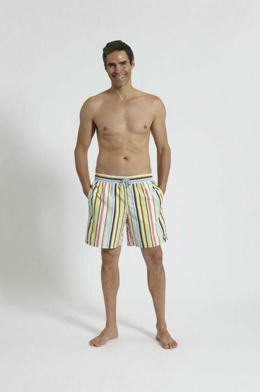メンズファッション, 水着 Tom Teddy Stripe Multi