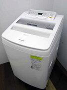 【中古】【洗濯機】パナソニック全自動洗濯乾燥機NA-FW80S6即効泡洗浄エコナビシャンパン2018年製【L】中古洗濯機洗濯機家電4〜6人用大家族ファミリー大型激安価格安いおすすめ一人暮らし乾燥機能付