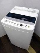 【あす楽】【中古】【洗濯機】ハイアールJW-C45D4.5kg簡易乾燥機能付ホワイト2019年製【S】中古洗濯機洗濯機家電1人暮らし単身者向け1〜2人用小型激安価格安いおすすめサイズS