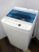 【あす楽】【中古冷蔵庫】ハイアールJW-C45A4.5kg簡易乾燥機能付ホワイト2017年製【S】中古洗濯機洗濯機家電1人暮らし単身者向け1〜2人用小型激安価格安いおすすめ一人暮らし