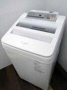 【あす楽】【中古洗濯機】パナソニックNA-FA70H3洗濯7.0kgホワイト2016年製家電ファミリー向けサイズ大型激安価格安いおすすめ