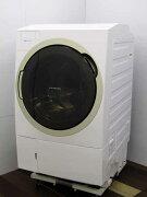 【中古】【洗濯機】東芝TW-117X6L(W)ドラム式洗濯乾燥機TOSHIBAZABOON洗濯11kg乾燥7kg左開きグランホワイト2018年製家電ファミリー向けサイズ大型激安価格安いおすすめ乾燥機能付き