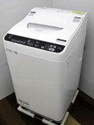【あす楽】【中古洗濯機】シャープ全自動洗濯乾燥機ES-TX5DJ-W洗濯5.5kg乾燥3.5kgホワイト家電1人暮らし単身者向けサイズ1〜2人用小型激安価格安いおすすめ