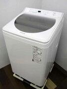 【中古洗濯機】パナソニック全自動洗濯機NA-FA100H7洗濯10.0kgシャンパン家電ファミリー向けサイズ大型激安価格安いおすすめ