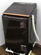 中古洗濯機東芝縦型洗濯乾燥機ザブーンAW-10SV6洗濯10.kg乾燥5kg家電ファミリー向けサイズ大型激安価格安いおすすめ