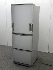 シャープ冷凍冷蔵庫SJ-WA35K-S345Lシルバー2007年製【中古冷蔵庫】【大型冷蔵庫】【冷蔵庫】【◆L◆】【中古】【おすすめ】【USED】