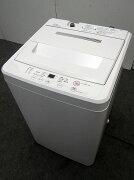 無印中古洗濯機AQW-MJ454.5kg2013年製【中古洗濯機】【一人暮らし】【洗濯機】【◆S◆】【中古】【おすすめ】【USED】【あす楽】【送料無料】