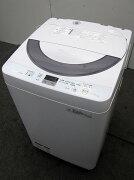 シャープ全自動洗濯機ES-GE55N-S5.5kg2014年製【中古洗濯機】【一人暮らし】【洗濯機】【◆S◆】【中古】【おすすめ】【USED】【あす楽】