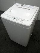 無印洗濯機ASW-MJ454.5kg2010年製【中古洗濯機】【一人暮らし】【洗濯機】【◆S◆】【中古】【おすすめ】【USED】【あす楽】
