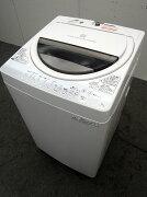 東芝洗濯機AW-60GM6.0kg2014年製【中古洗濯機】【一人暮らし】【洗濯機】【◆S◆】【中古】【おすすめ】【USED】【あす楽】
