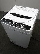 シャープ全自動洗濯機ES-G45RC-W4.5kg2016年製【中古洗濯機】【一人暮らし】【洗濯機】【◆S◆】【中古】【おすすめ】【USED】【あす楽】