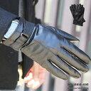 手袋 メンズ レザー 本革手袋 グローブ 皮 革 手袋 ポスト投函 送料無料 ブラック 黒 通勤 通学 ns18019-005の商品画像