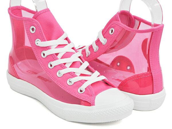 メンズ靴, スニーカー CONVERSE ALL STAR LIGHT CLEARMATERIAL HI PINK