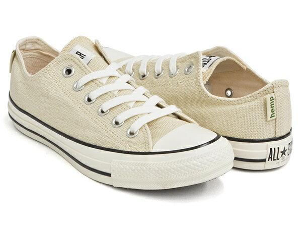 メンズ靴, スニーカー CONVERSE ALL STAR US HEMP OX USA U.S. ORIGINATOROFF WHITE (1SC341)