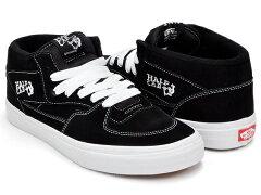 【2014 FALL 再入荷】VANS HALF CAB【バンズ ハーフキャブ】BLACK SUEDE