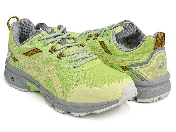 メンズ靴, スニーカー ASICS SportStyle HN1-S GEL-VENTURE 7 KIKO KOSTADINOV ASICS TigerLIME GREEN HUDDLE YELLOW