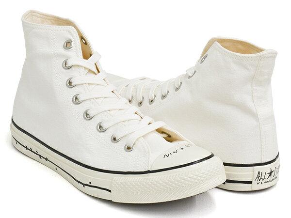 メンズ靴, スニーカー CONVERSE ALL STAR US YU NAGABA HI USA U.S. ORIGINATORWHITE (1SC572)